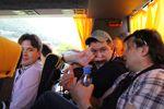 Автобус Тиват - Дубровник. Галерка.