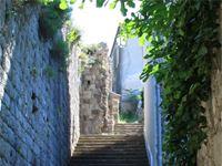 Лестница на Пельешацкую стену.